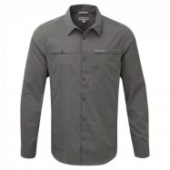 Kiwi Trek LS Shirt Ashen
