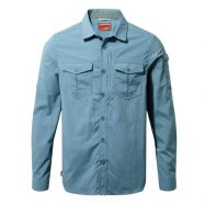 NL Adventure Shirt Men Smoke Blue