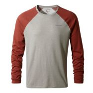 NL Bayame LS Shirt Men Soft Grey Marl