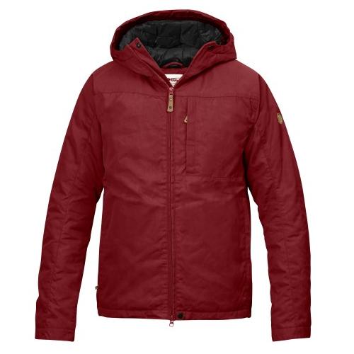 c57fc32fd39d2f Kiruna Padded Jacket Men Red Oak
